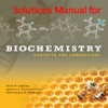 Solutions Manual for Biochemistry Concepts and Connections by Dean R. Appling, Spencer J. Anthony-Cahill, Christopher K. Mathews