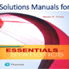 Solutions Manual for Essentials of Statistics 6th Edition by Mario F. Triola
