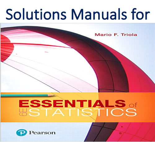 Solutions Manual for Essentials of Statistics