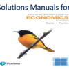 Solutions Manual for Essential Foundations of Economics 8th Edition by Robin Bade, Michael Parkin