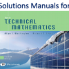 Solutions Manual for Basic Technical Mathematics 11th Edition by Allyn J. Washington, Richard Evans
