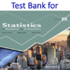 Test Bank for Statistics for Business and Economics 12th Edition by James T. McClave, P. George Benson, Terry T. Sincich