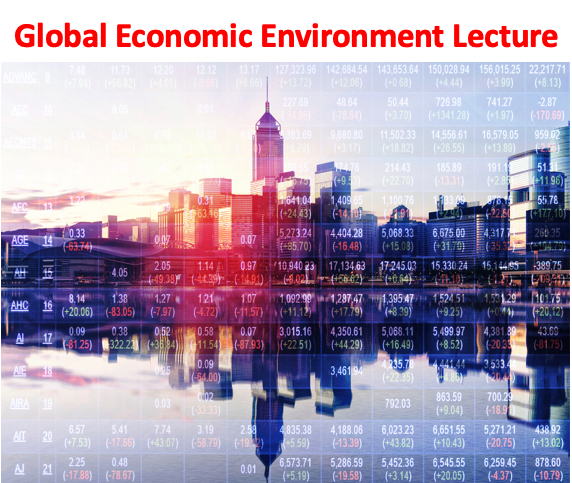 Global Trade Environment Lecture