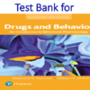 Test Bank for Drugs and Behavior An Introduction to Behavioral Pharmacology 8th Edition by Stephanie Hancock, William McKim