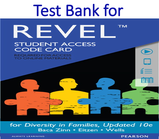 Test Bank for Diversity in Families 10th Edition