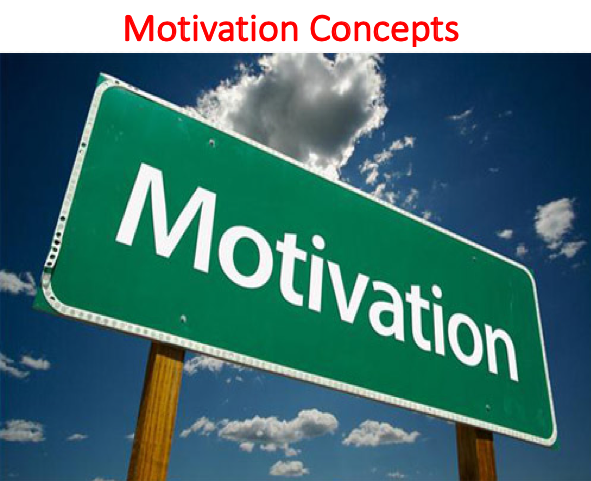 Motivation Concepts Lecture