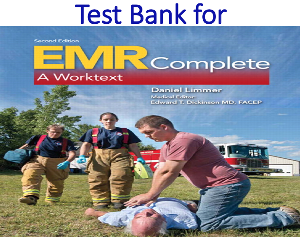 Test Bank for EMR Complete A Worktext 2nd Edition