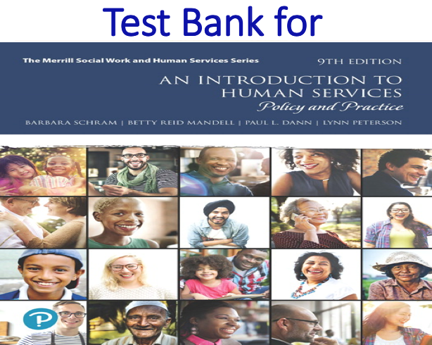 Test Bank for An Introduction to Human Services Policy and Practice 9th Edition