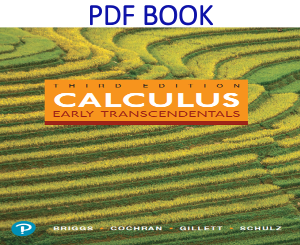 Calculus Early Transcendentals 3rd Edition PDF Book