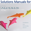 Solutions Manual for Calculus & Its Applications 13th Edition by Larry J. Goldstein, David C. Lay, David I. Schneider, Nakhle H. Asmar