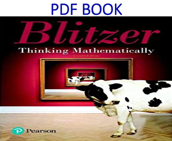 Thinking Mathematically 7th Edition PDF Book