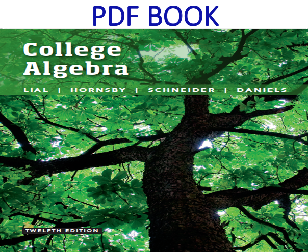 College Algebra 12th Edition PDF Book