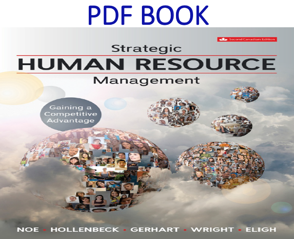 Strategic Human Resource Management Gaining a Competitive AdvantagePDF Book by Raymond Noe and John Hollenbeck