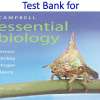 Test Bank for Campbell Essential Biology 6th Edition by Eric J. Simon, Jean L. Dickey, Kelly A. Hogan, Jane B. Reece