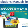 Solutions Manual for Elementary Statistics 6th Edition by Ron Larson, Betsy Farber