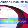 Solutions Manual for Elementary Statistics 13th Edition by Mario F. Triola