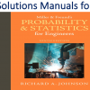 Solutions Manual for Miller & Freund's Probability and Statistics for Engineers 9th Edition by Richard A. Johnson, Irwin Miller, John E Freund