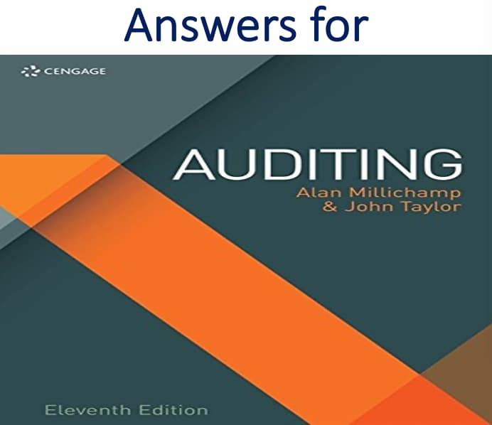Answers for Auditing 11th Edition