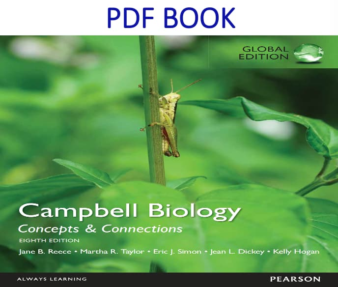 Campbell Biology Concepts & Connections 8th Global Edition